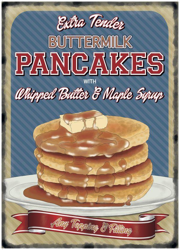 Plaque murale XL – Pancakes
