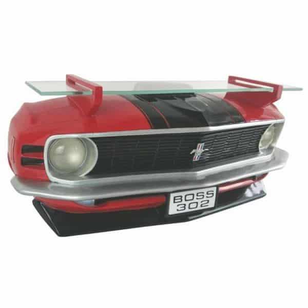Etagère murale 1970 Ford Mustang Boss 302 (avec phares)