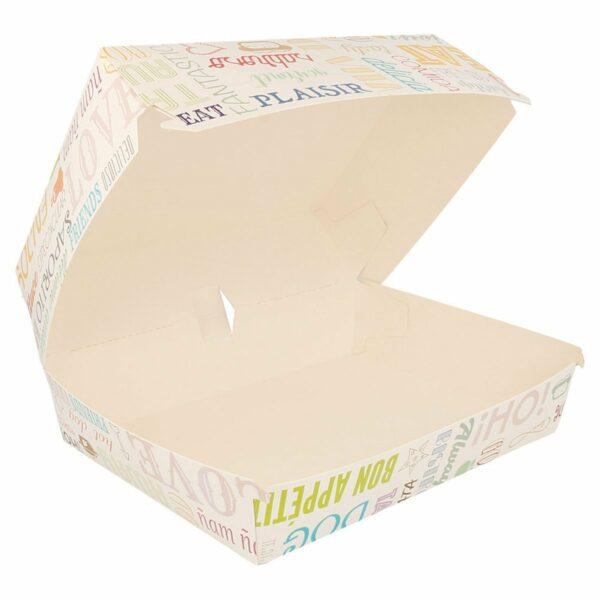 Boîtes pour menu – 100 «Grandes» boîtes