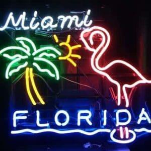 31-enseigne-lumineuse-neon-miami-florida-flamand-rose-palmier
