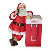 Décoration de Noël Père Noël Coca-Cola