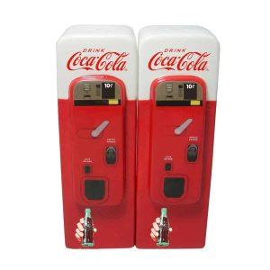 Shaker sel poivre frigo vendo coca-cola soda americain