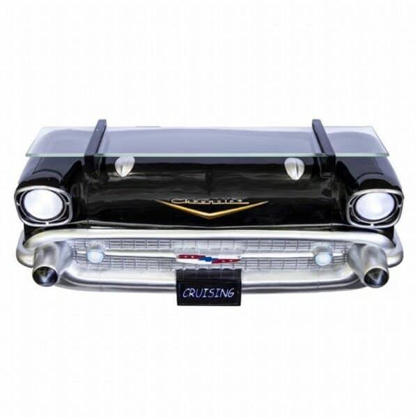 Etagère murale GM 1957 Chevrolet Bel Air  (avec lumières)