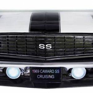 GM 1969 Chevrolet Camaro SS Etagere murale en resine pour deco americaine