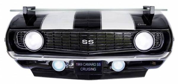 Etagère murale GM 1969 Chevrolet Camaro SS (avec lumières)