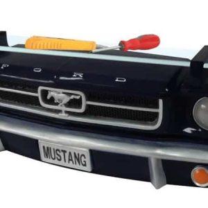 Ford Mustang 1964 cabriolet Etagere murale en resine pour deco americaine