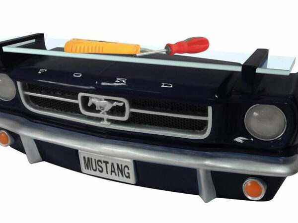 Ford Mustang 1964 cabriolet Etagere murale en resine pour deco americaine