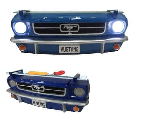 Ford Mustang Etagere murale en resine pour deco americaine