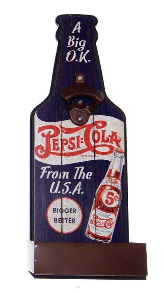 Panneau mural Décapsuleur Pepsi-Cola