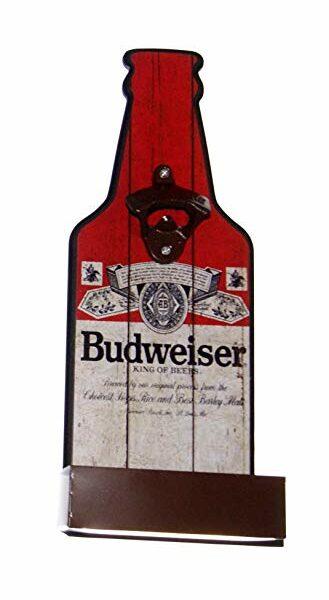 Decapsuleur de bouteille pour décoration americaine Budweiser
