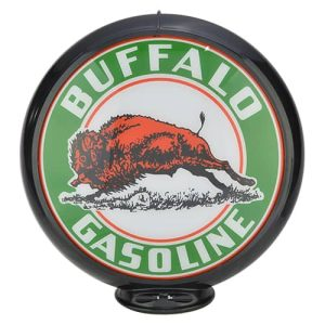 Buffalo Globe publicitaire de pompe a essenceBuffalo Globe publicitaire de pompe a essence