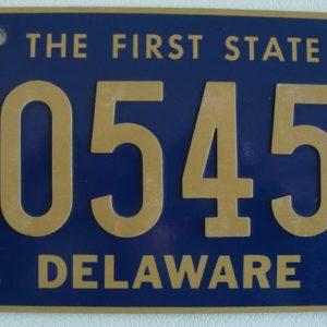 Delaware Plaque d'immatriculation americaine swap meet
