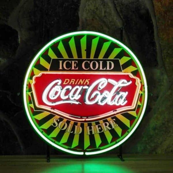 Néon Coca Cola Ice Cold