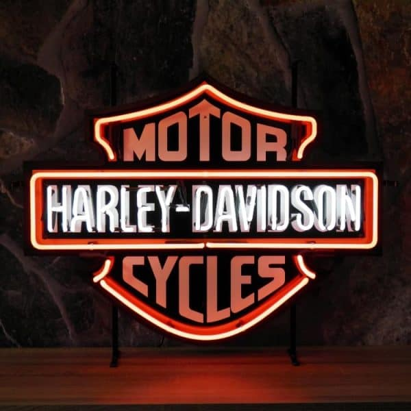 Néon Harley Davidson Motor