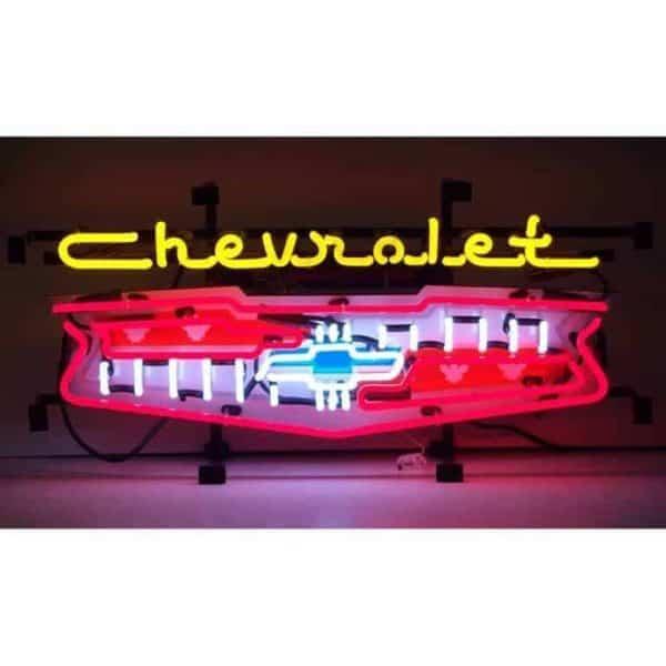 Enseigne Neon Chevy Grill