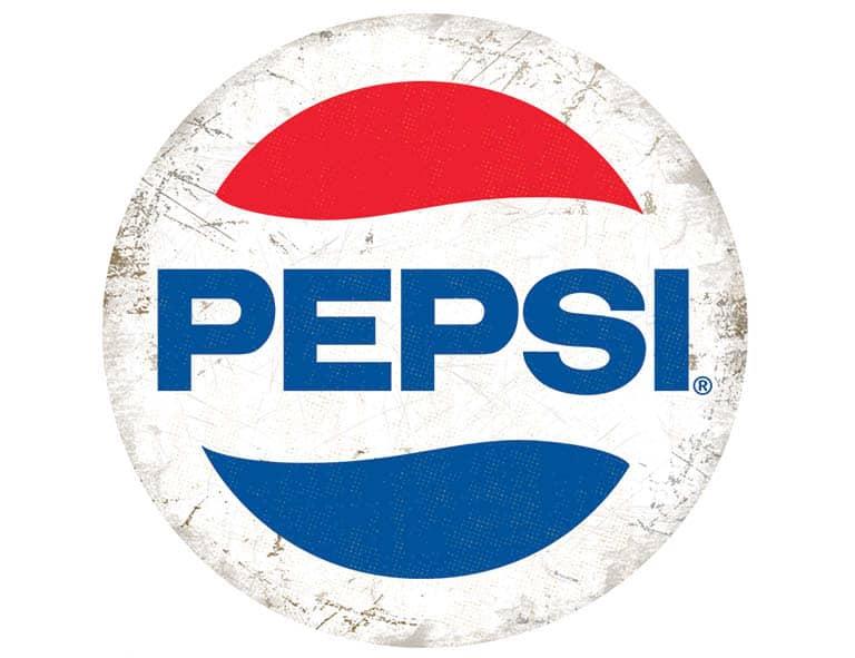 Plaque publicitaire de décoration murale 5166 PC19 Pepsi