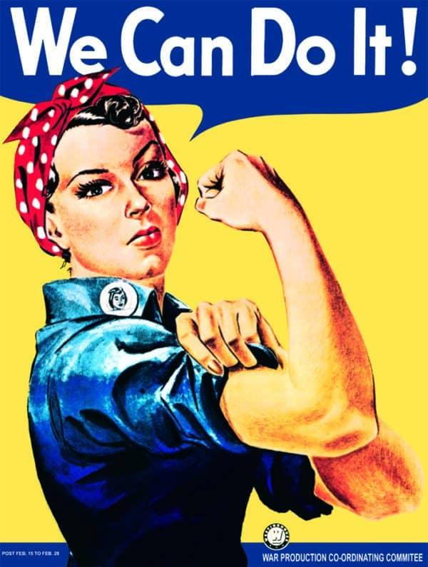 Plaque de décoration murale Rosie
