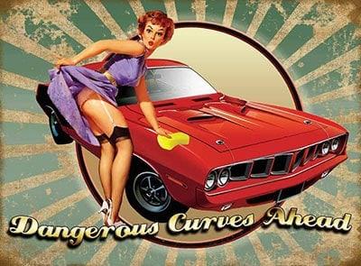 Plaque publicitaire de décoration murale 80128
