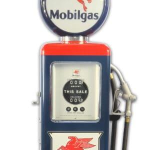 Pompe à essence americaine 8 Ball Mobilgas Gasoline