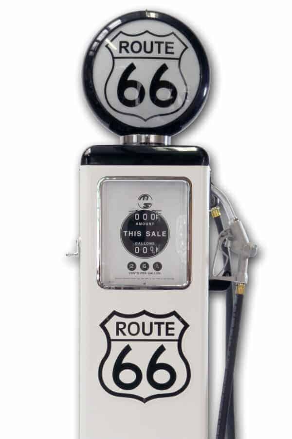 Pompe à essence américaine – Route 66