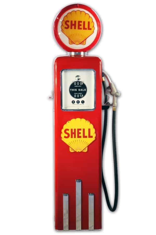 Pompe à essence américaine – Shell