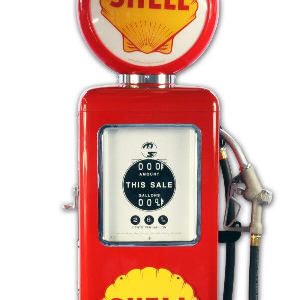 Pompe à essence americaine 8 Ball Shell Gasoline