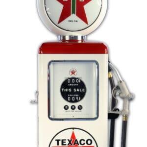 Pompe a essence de la marque Texaco