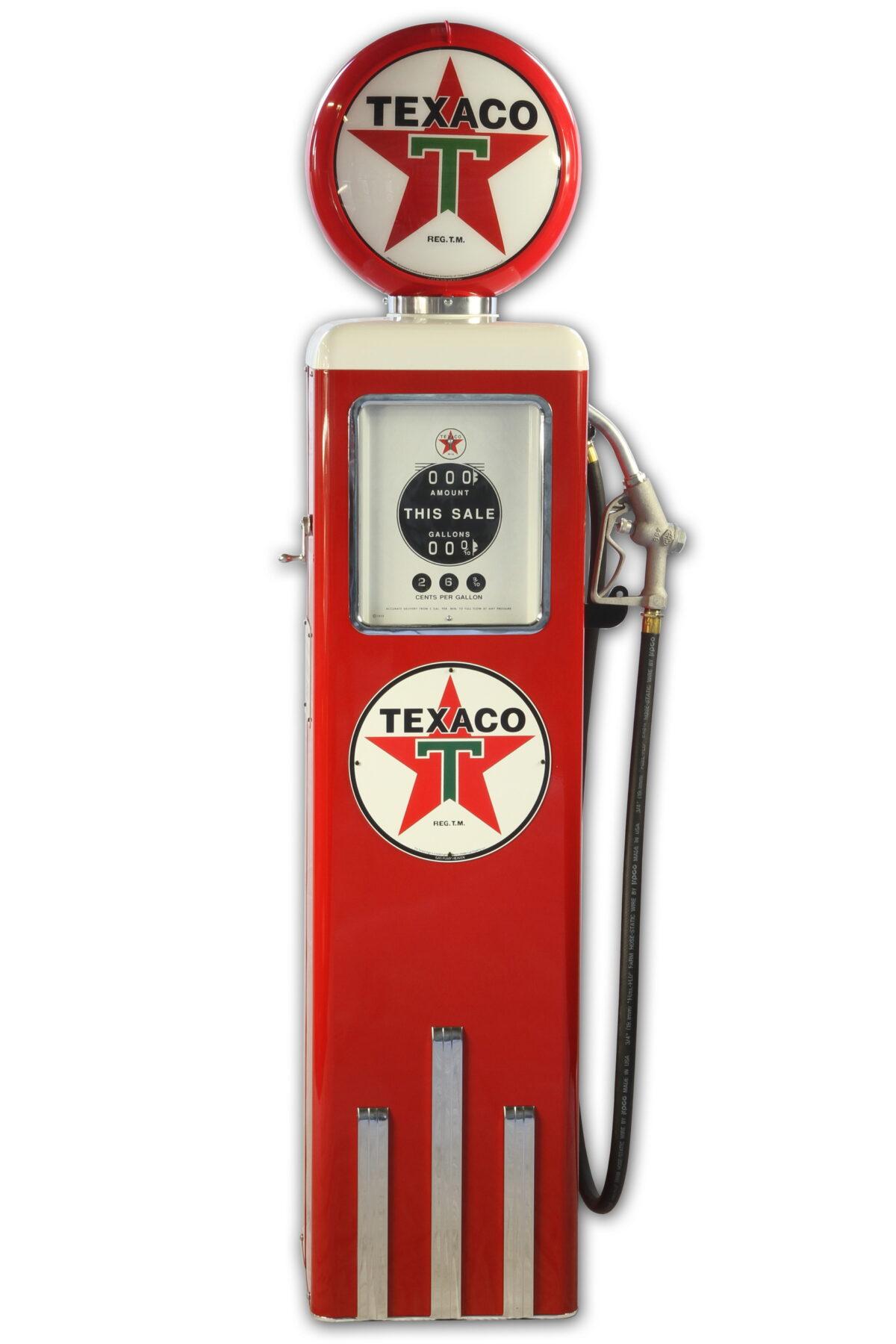 Pompe à essence americaine 8 Ball Texaco Gasoline