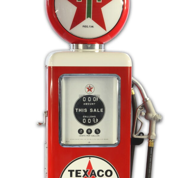 Pompe à essence americaine 8 Ball Texaco Gasoline