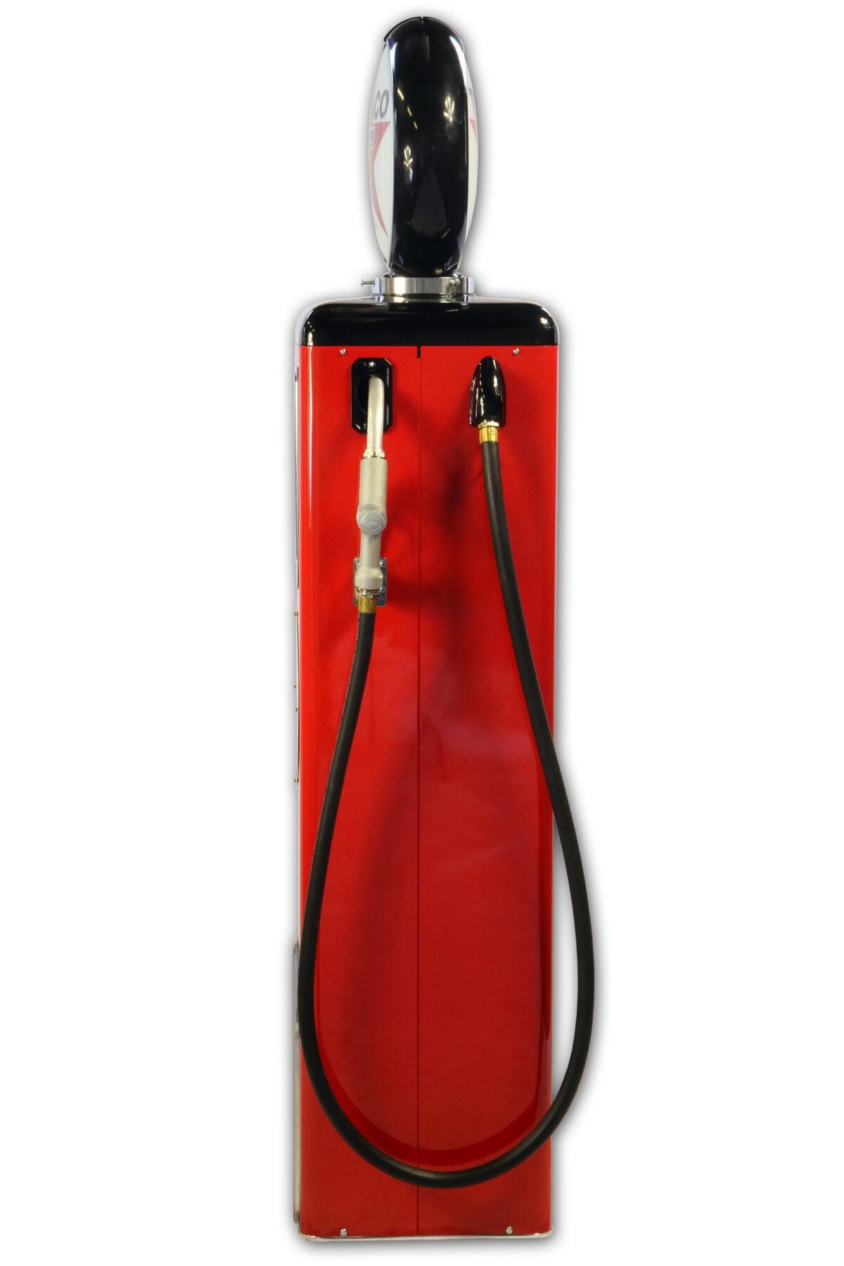 Pompe à essence américaine Texaco avec globe lumineux