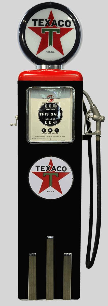 Pompe à essence américaine – Texaco