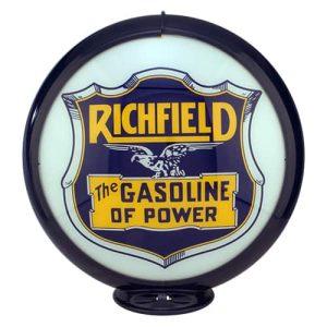 Richfield gasoline of power