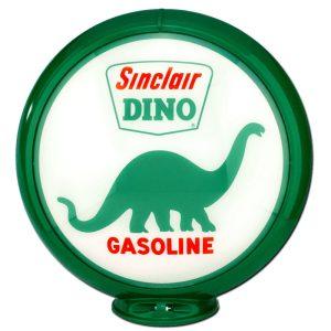 Sinclair Dino Globe publicitaire de pompe a essence