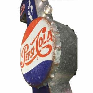 Enseigne de décoration américaine murale à led Pepsi Cola