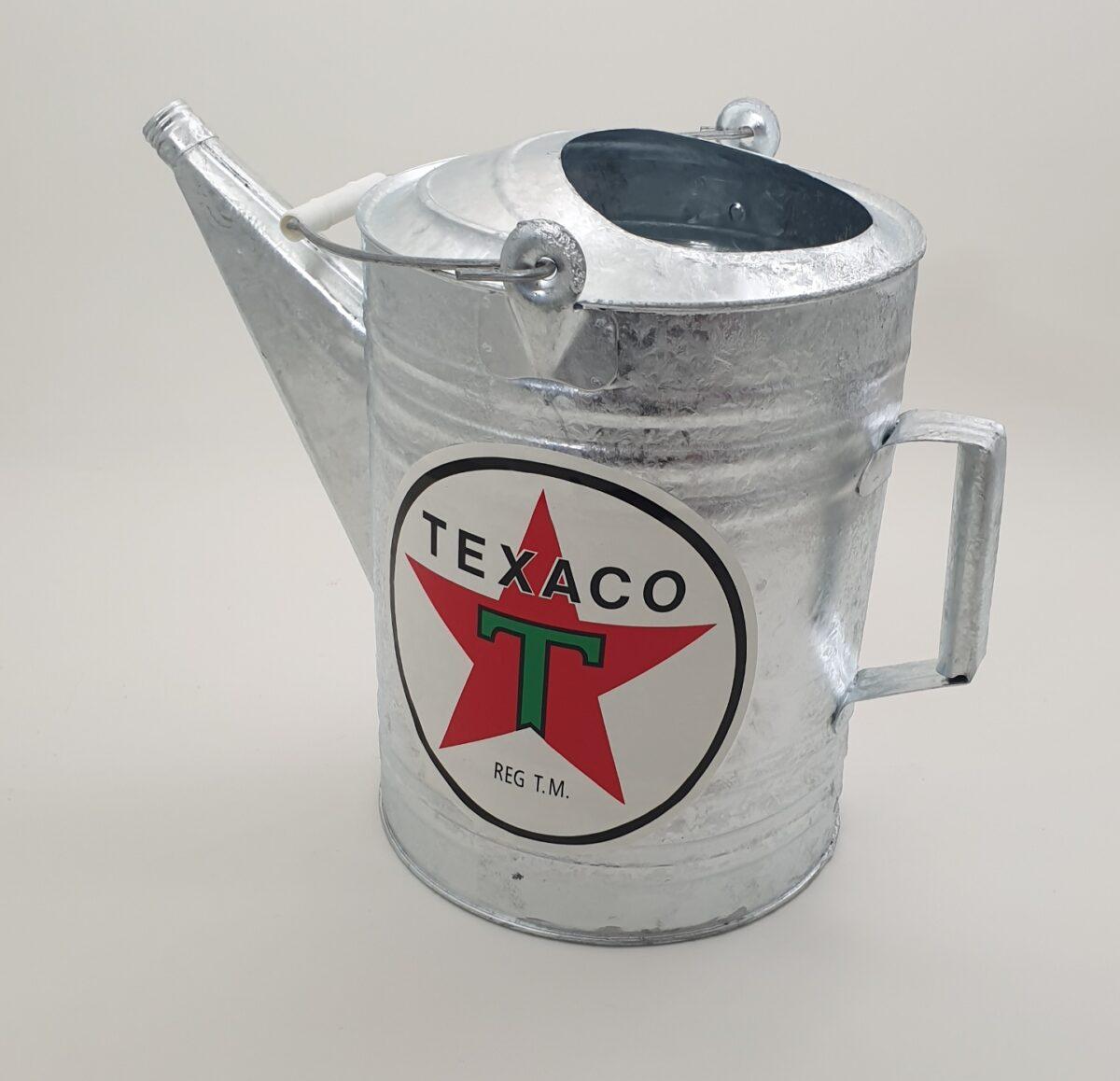 Seau Galvanise De Garagiste Texaco