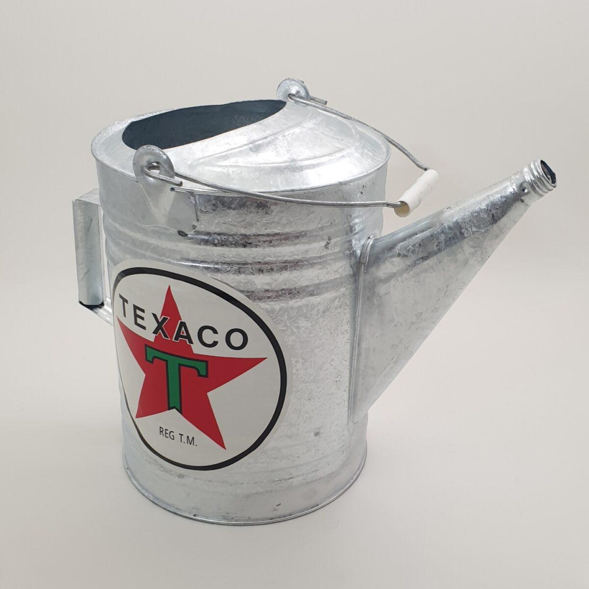 Seau Galvanise De Garagiste Texaco 3