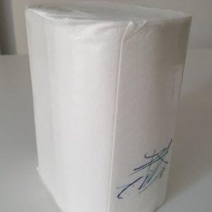 Serviette pour distributeur chrome retro americain