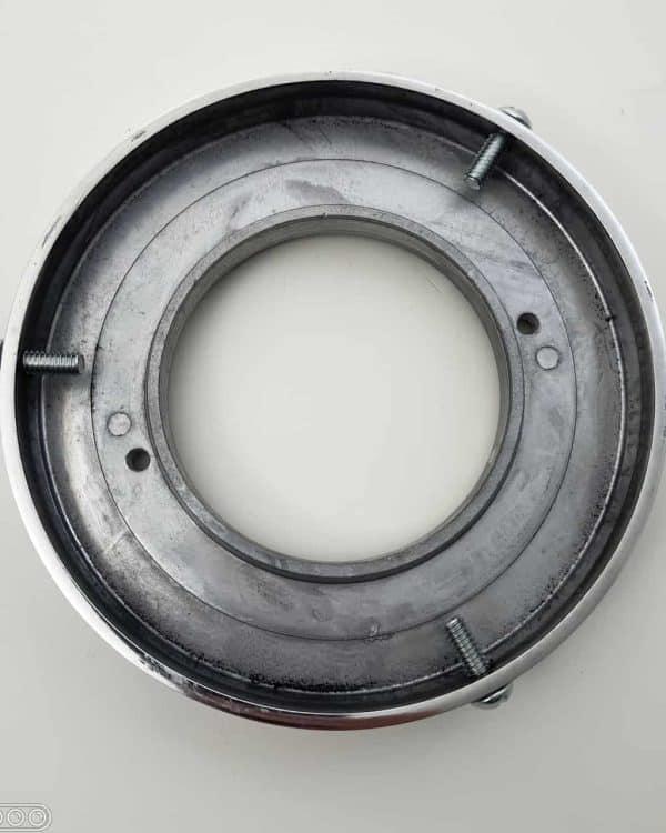 support de globe de pompe a essence pour renovation ou fixation sur etagere et plafond chrome 1