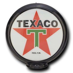 Texaco Globe publicitaire de pompe a essence