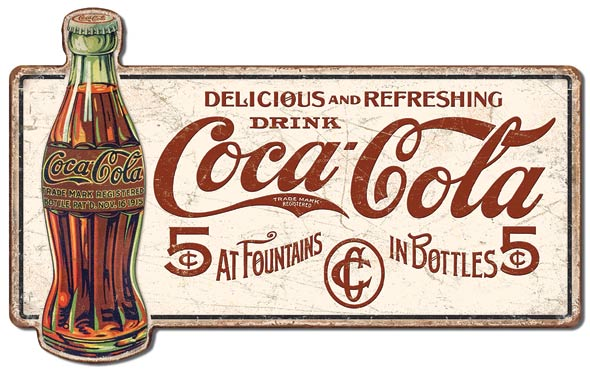 Coca Cola 5 cents – XL