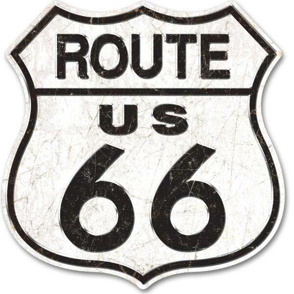 Panneau publicitaire americain Route US 66