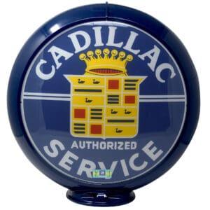 Cadillac Service Parts Globe publicitaire de pompe a essence