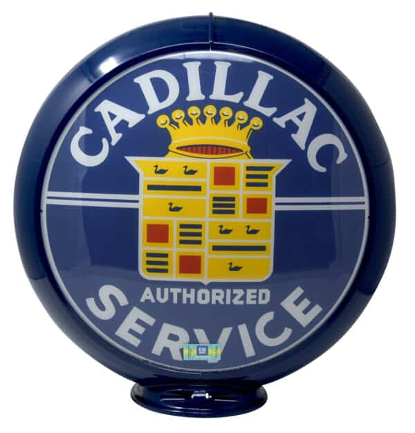 Globe de pompe à essence – Cadillac