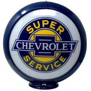 Chevy Service Parts Globe publicitaire de pompe a essence