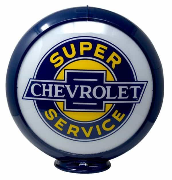 Globe de pompe à essence – Chevrolet Super Service