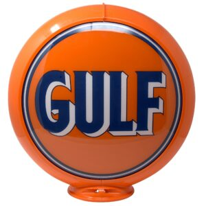 Gulf Globe publicitaire de pompe a essence