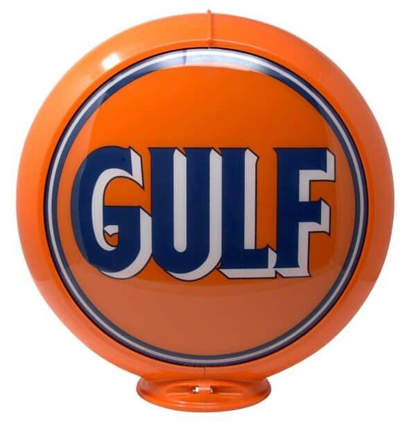 Globe de pompe à essence – Gulf