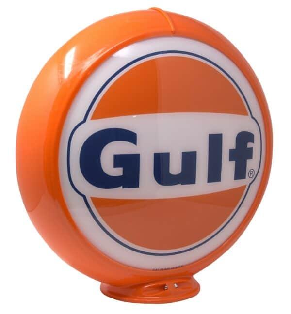 Globe de pompe à essence – Gulf 1963