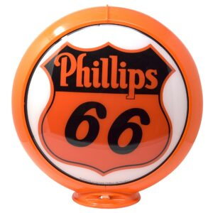 phillips-66 Globe publicitaire de pompe a essence