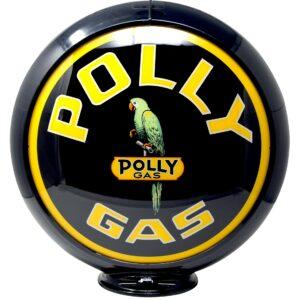 polly-gas Globe publicitaire de pompe a essence